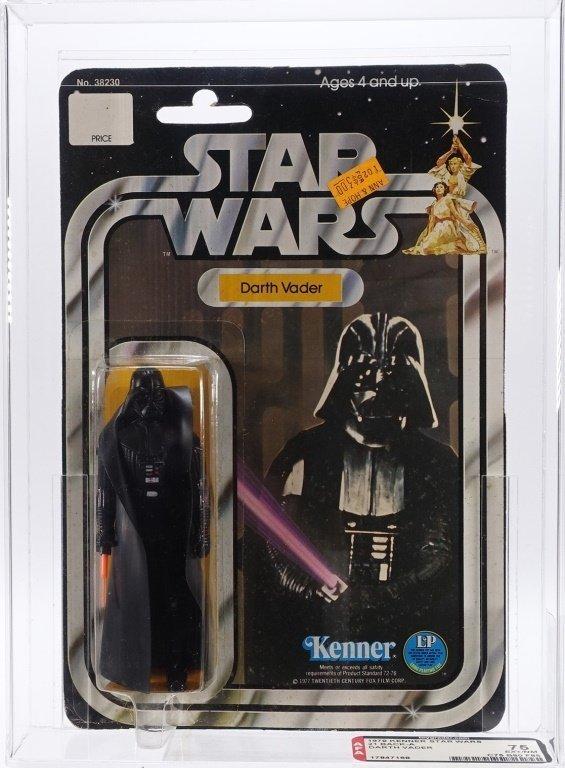 1979 Star Wars 21 Back A Darth Vader AFA 75