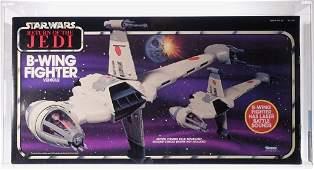 1984 Star Wars ROTJ BWing Fighter AFA 85