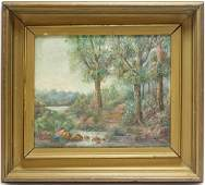 Helen French Impressionist Landscape OC Painting
