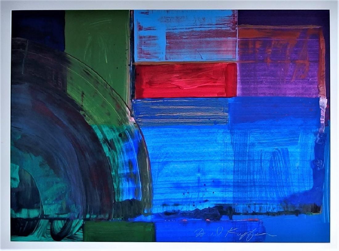 David Kupferman Acrylic Abstract Painting