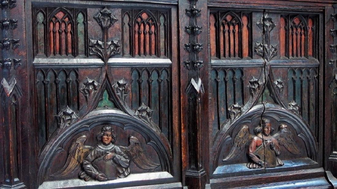 Italian Renaissance Revival Carved Wood Cabinet - 4