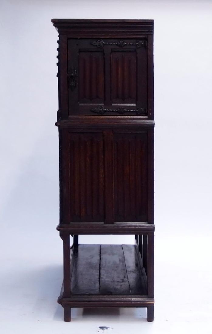 Italian Renaissance Revival Carved Wood Cabinet - 6