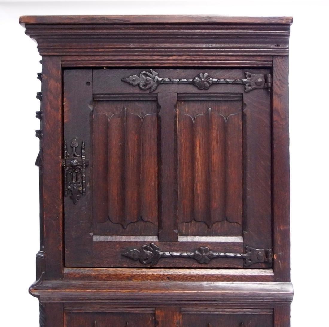 Italian Renaissance Revival Carved Wood Cabinet - 7