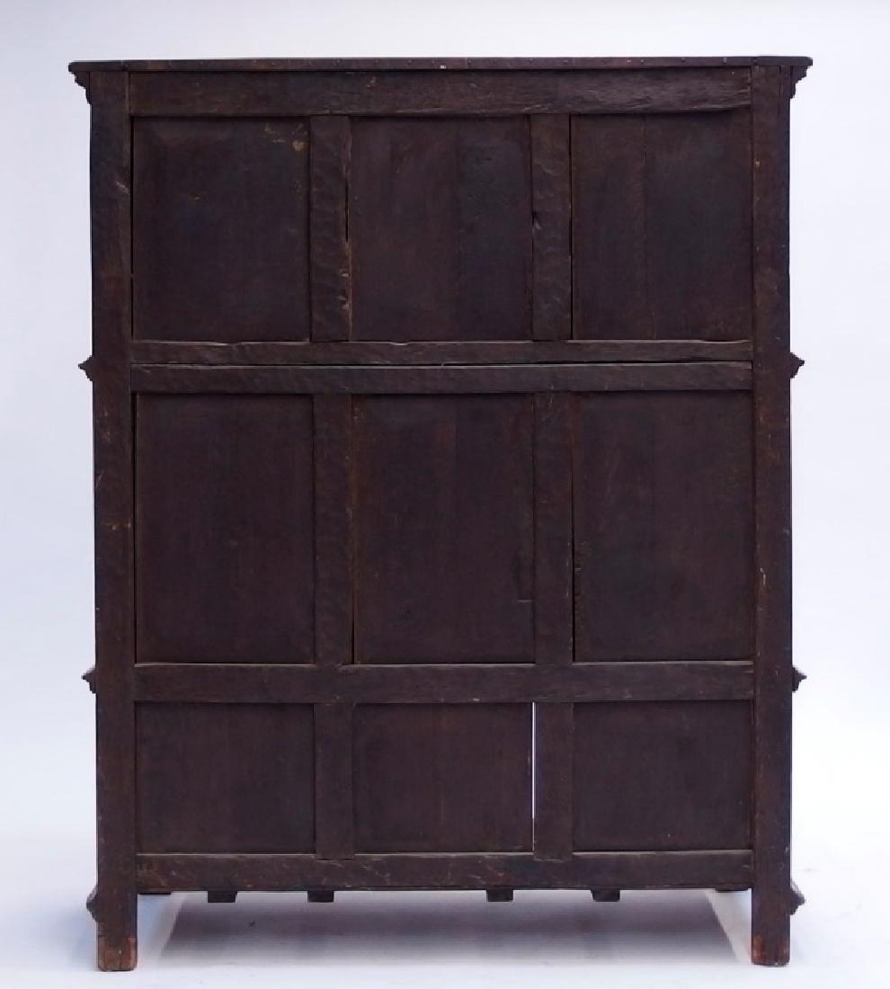 Italian Renaissance Revival Carved Wood Cabinet - 9