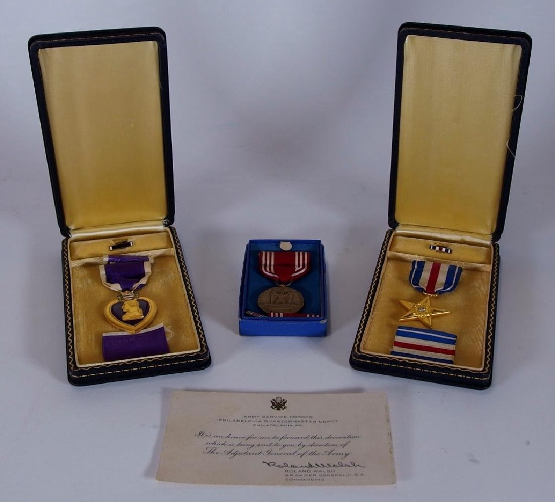 WWII Medal grouping for 1st LT Anthony J Ankuta