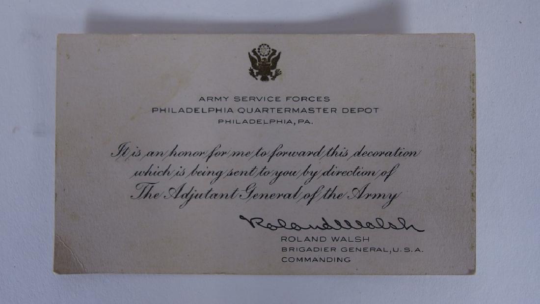 WWII Medal grouping for 1st LT Anthony J Ankuta - 8