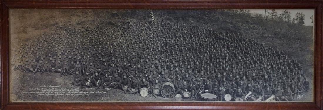 WWI 101st US Engineers Battalion Photograph