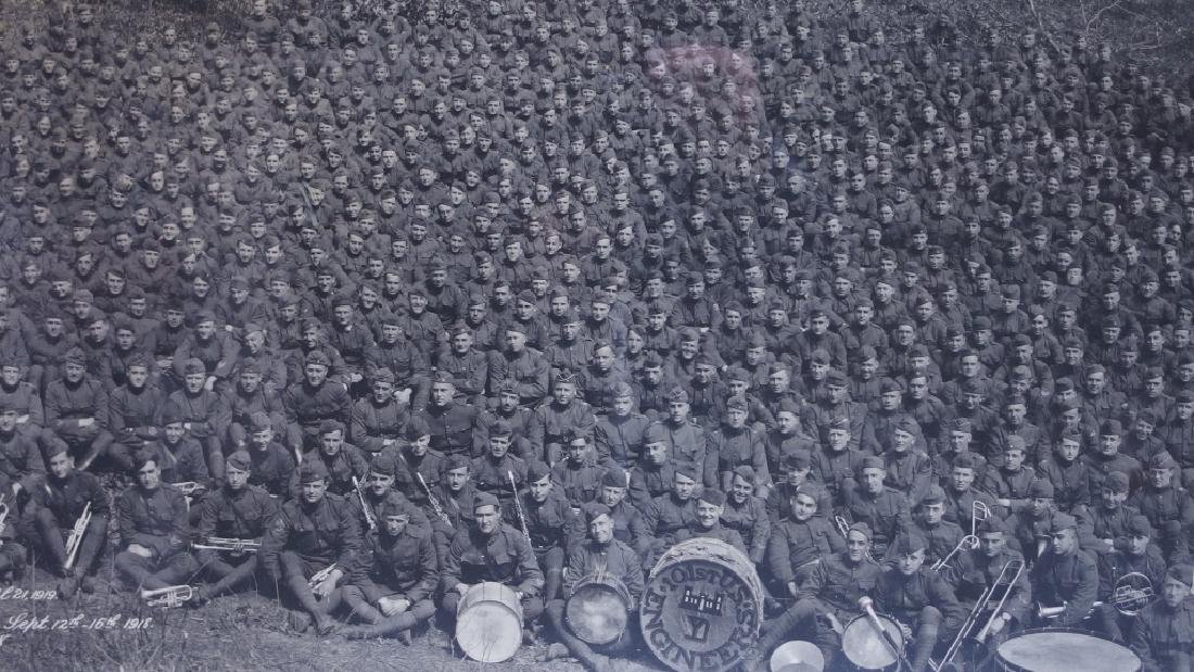 WWI 101st US Engineers Battalion Photograph - 2