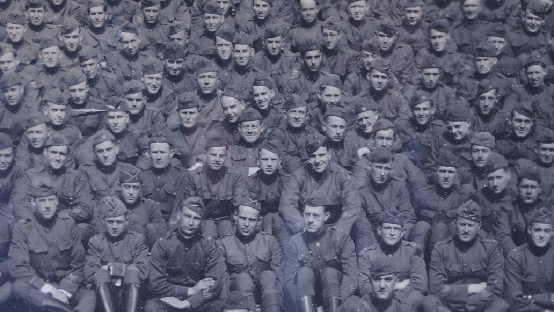 WWI 101st US Engineers Battalion Photograph - 3
