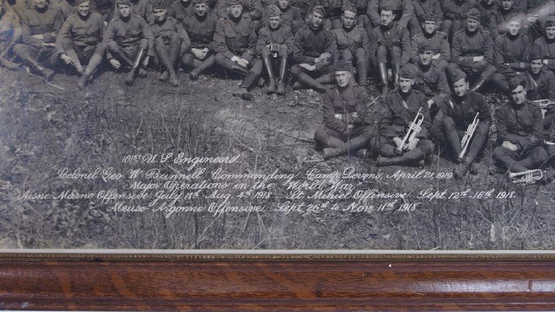 WWI 101st US Engineers Battalion Photograph - 4