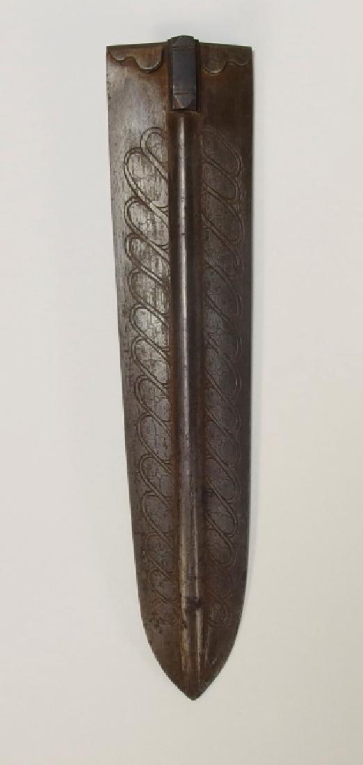 European Openwork Medieval-Style Steel Dagger - 5