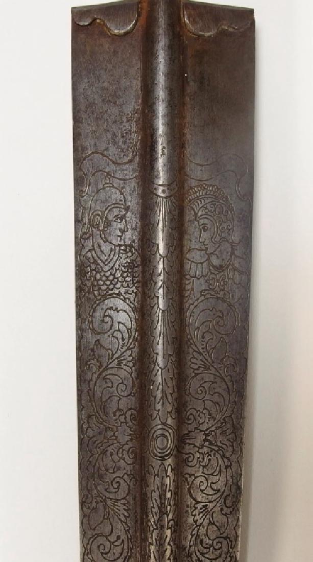 European Openwork Medieval-Style Steel Dagger - 6
