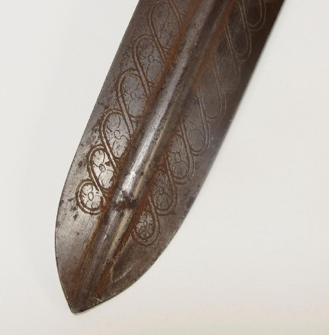 European Openwork Medieval-Style Steel Dagger - 8