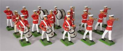 English Britain Marching Band Lead Soldier Set
