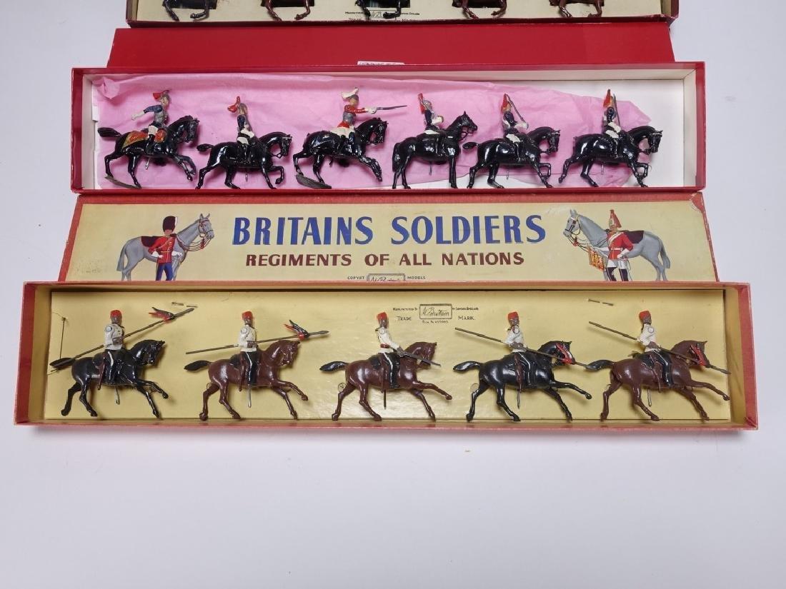 3 Britains Bedouin Arabs & Medieval Knight  Set - 4