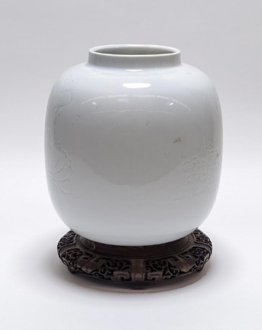 C.1920 American ARS Design Pottery Celadon Vase - 2