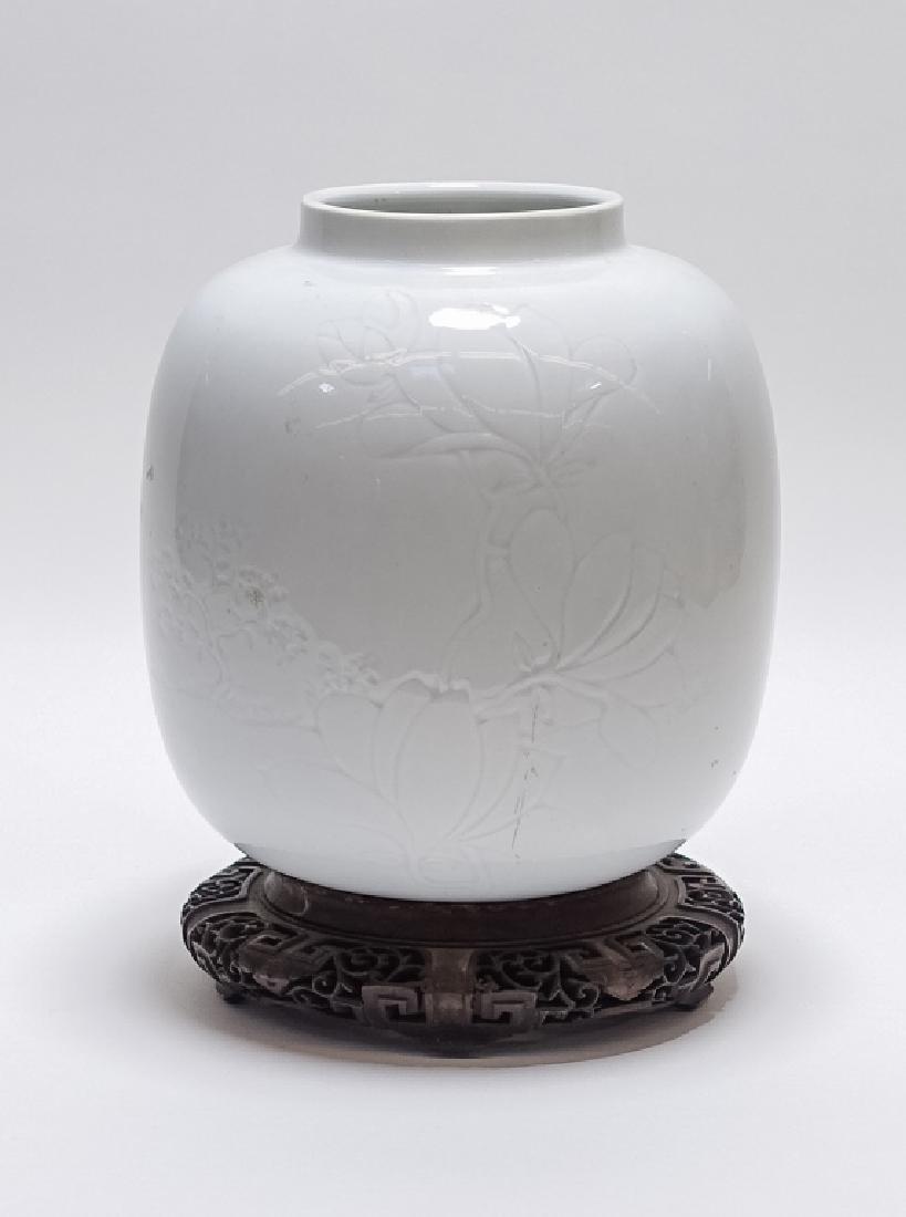 C.1920 American ARS Design Pottery Celadon Vase - 3