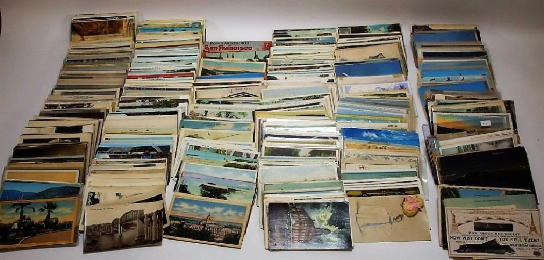 LG Group Vintage American & European Post Cards