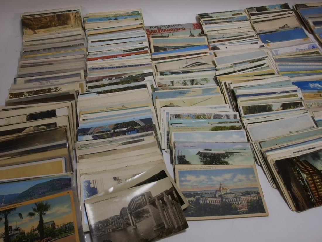 LG Group Vintage American & European Post Cards - 2