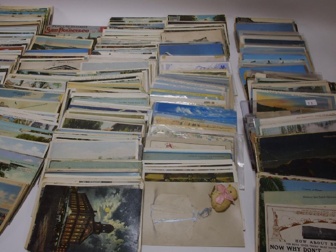 LG Group Vintage American & European Post Cards - 3