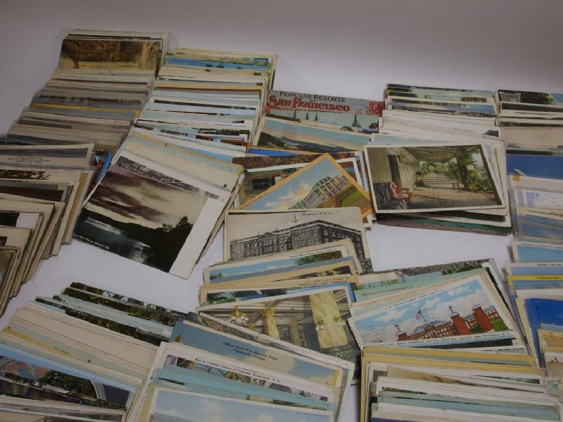 LG Group Vintage American & European Post Cards - 4