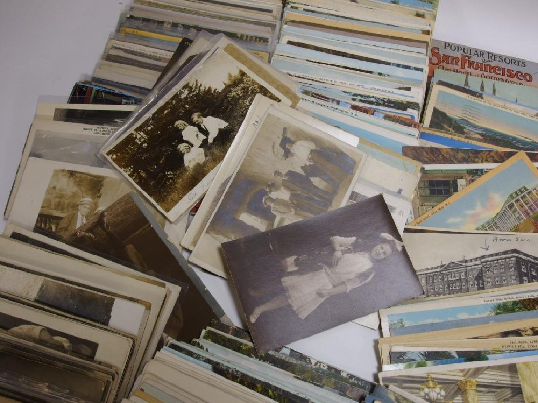LG Group Vintage American & European Post Cards - 5