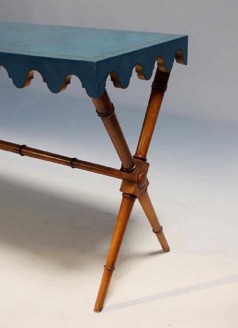 Mid Century Modern Polychrome Wood Table - 4