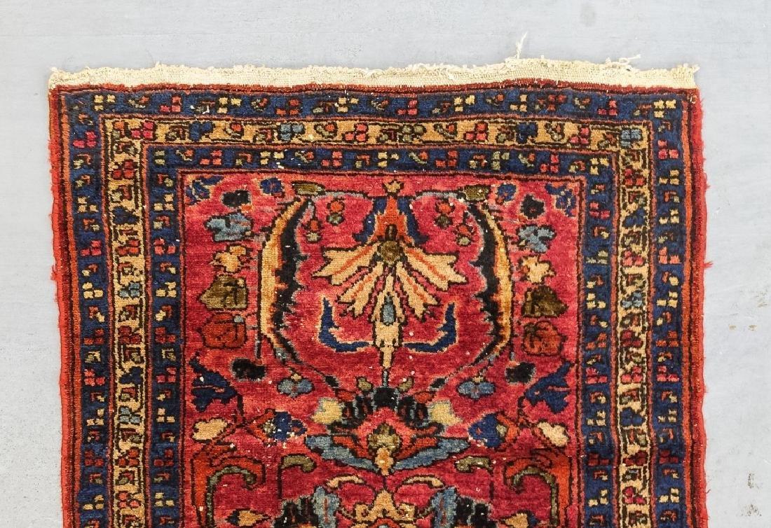 2 Oriental Persian Sarouk Style Carpet Rugs - 2