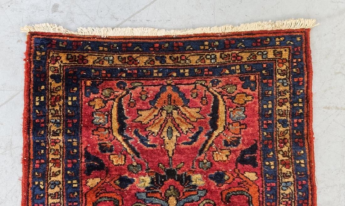 2 Oriental Persian Sarouk Style Carpet Rugs - 3