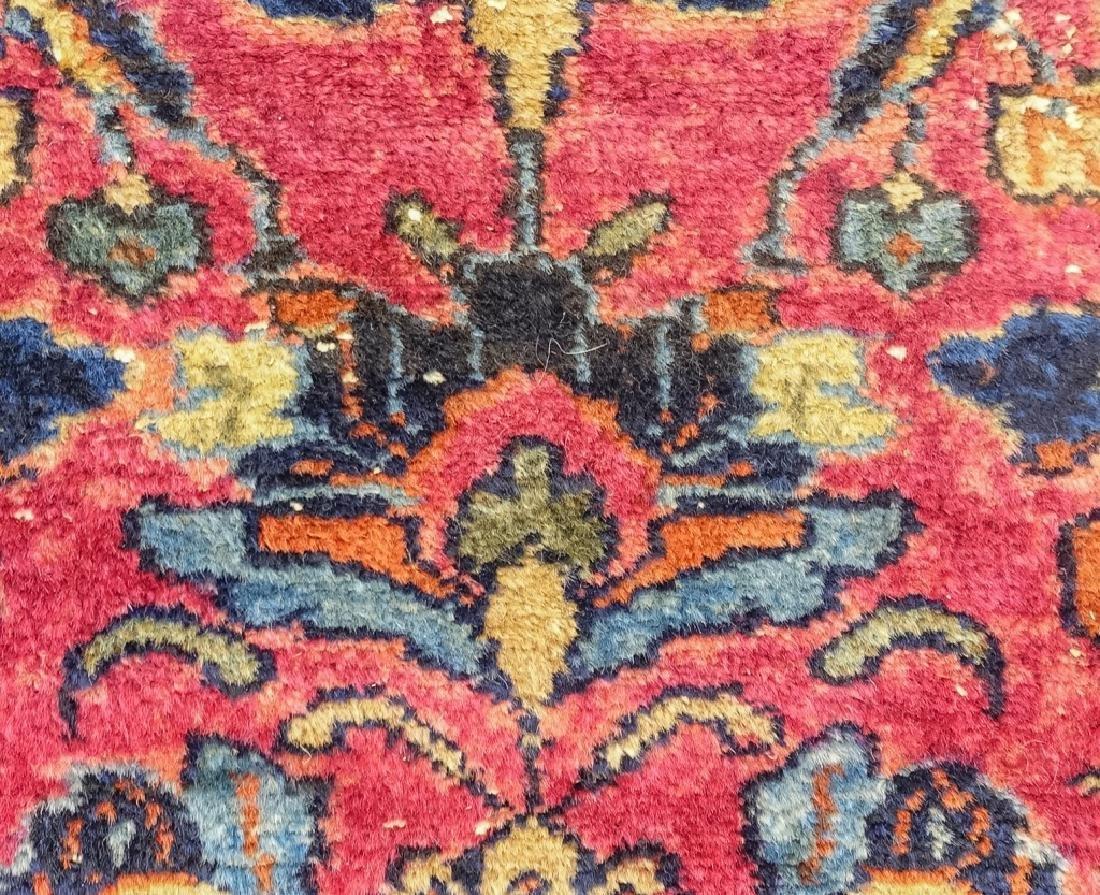 2 Oriental Persian Sarouk Style Carpet Rugs - 4