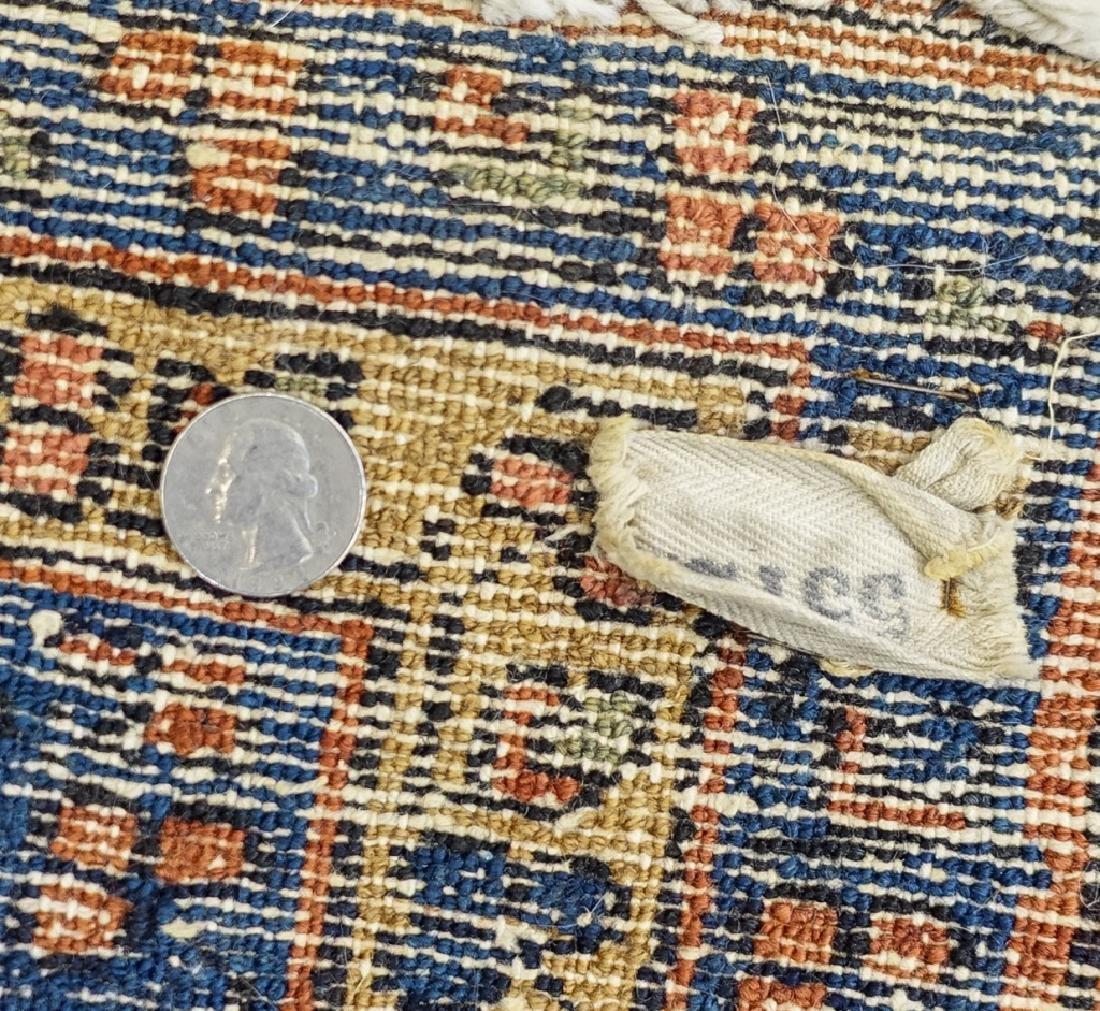 2 Oriental Persian Sarouk Style Carpet Rugs - 5