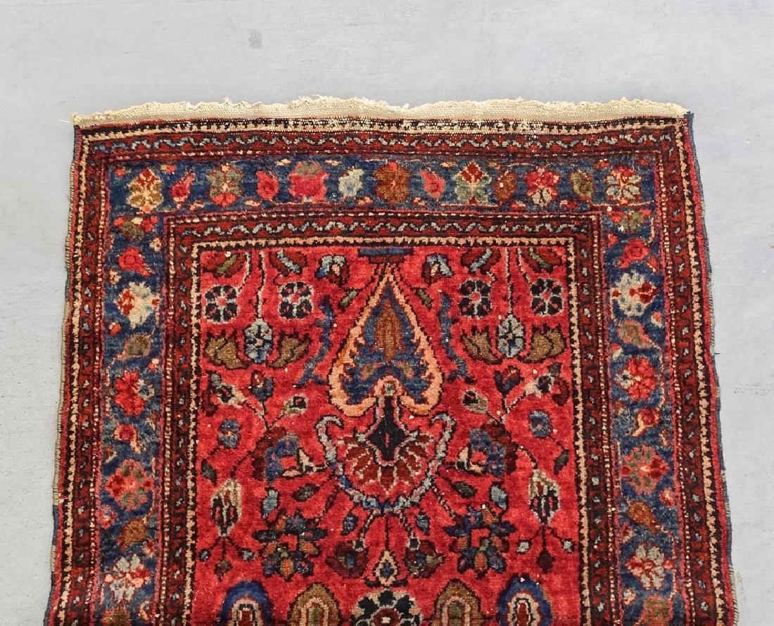 2 Oriental Persian Sarouk Style Carpet Rugs - 6