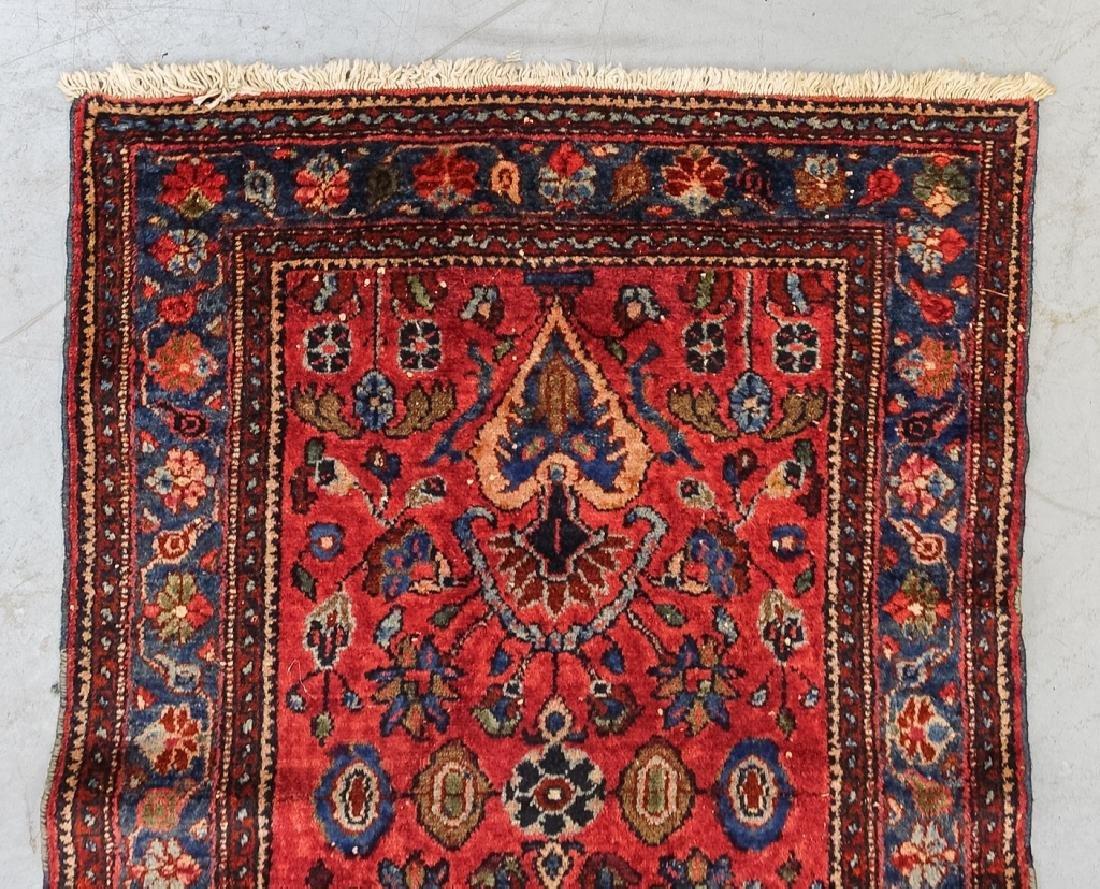 2 Oriental Persian Sarouk Style Carpet Rugs - 7