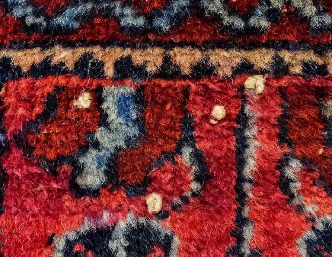 2 Oriental Persian Sarouk Style Carpet Rugs - 8