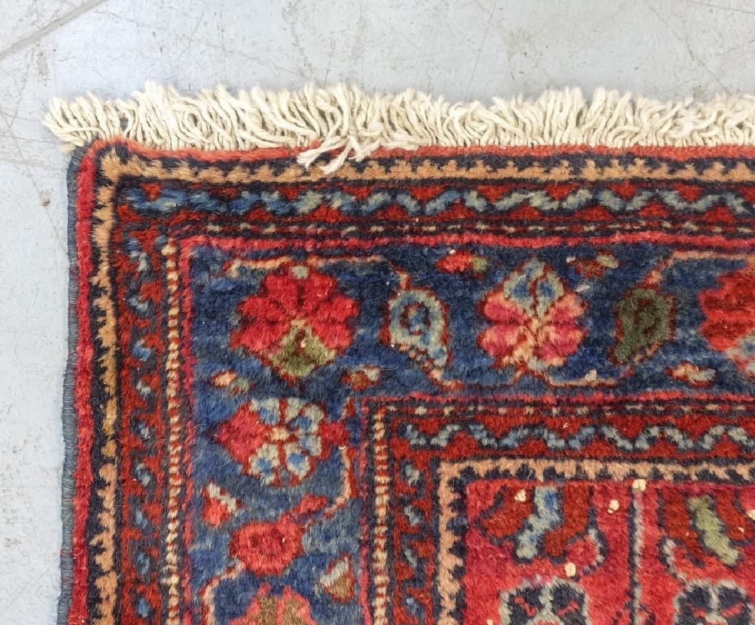 2 Oriental Persian Sarouk Style Carpet Rugs - 9