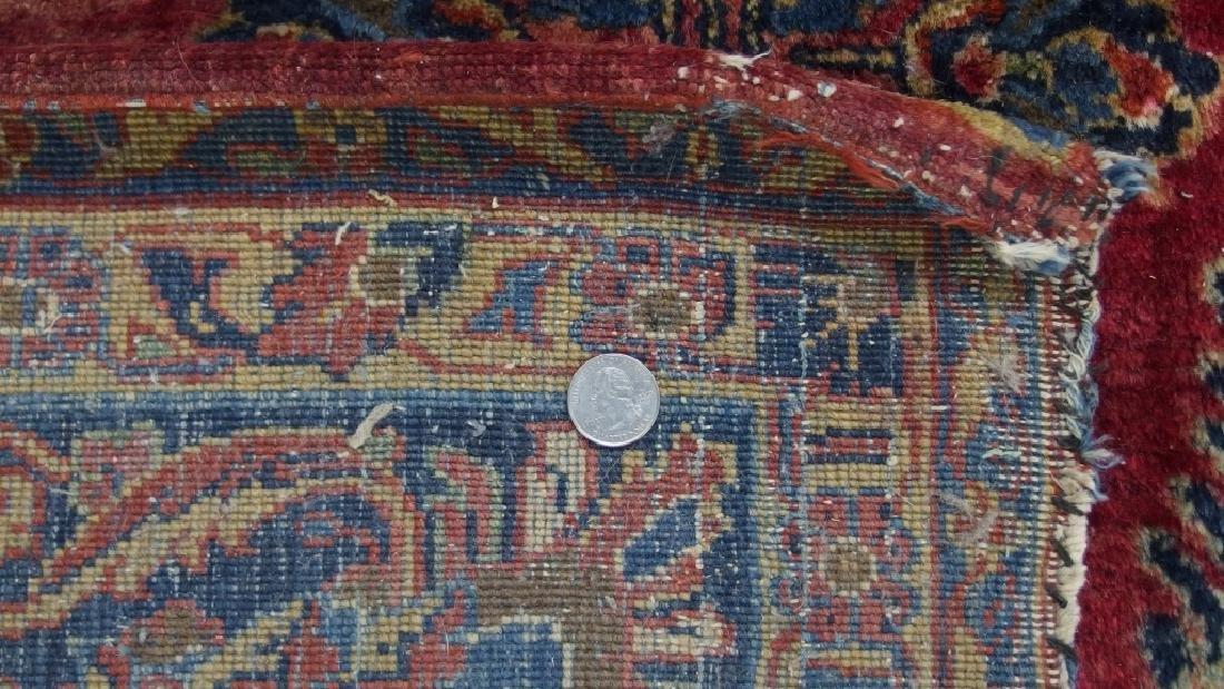 Persian Sarouk Room Size Carpet Rug - 10