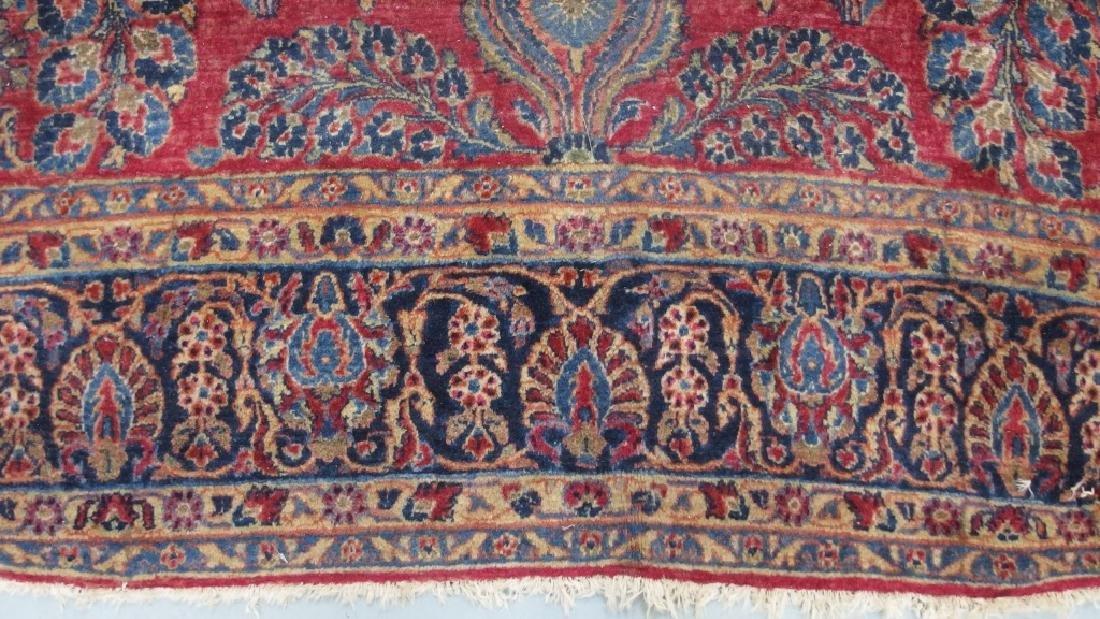 Persian Sarouk Room Size Carpet Rug - 3