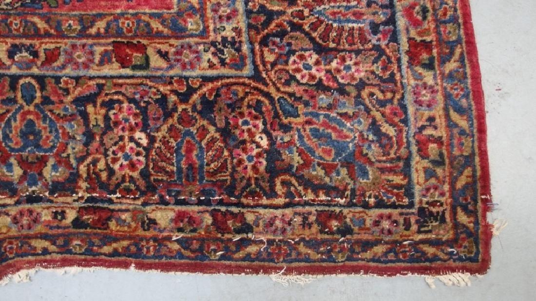 Persian Sarouk Room Size Carpet Rug - 5