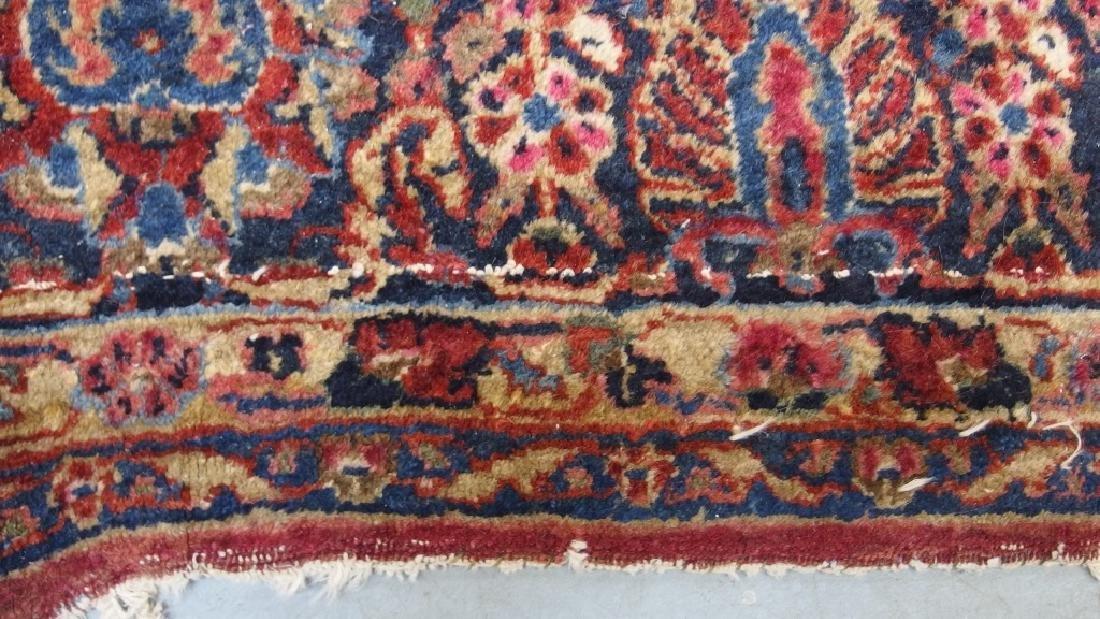 Persian Sarouk Room Size Carpet Rug - 6