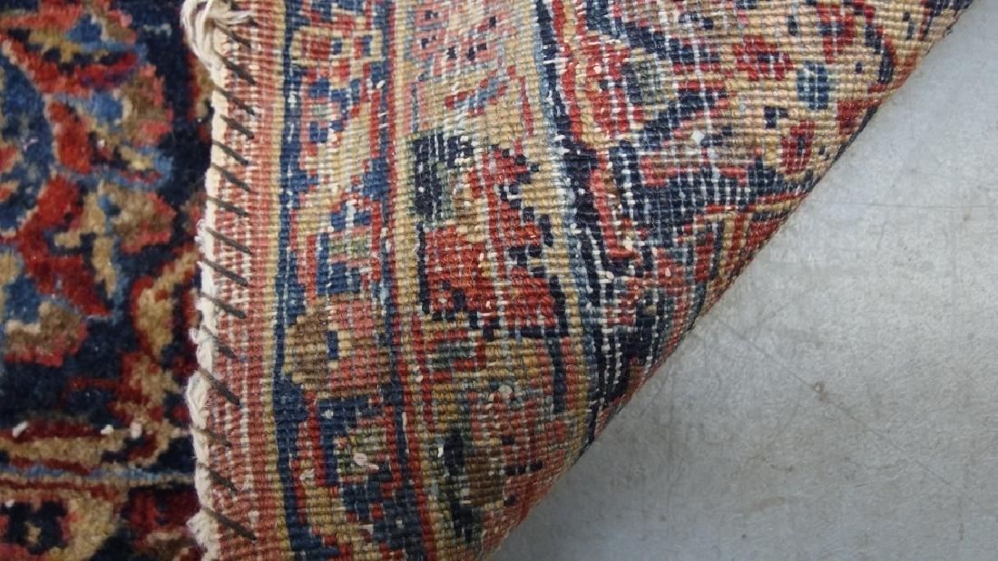 Persian Sarouk Room Size Carpet Rug - 7