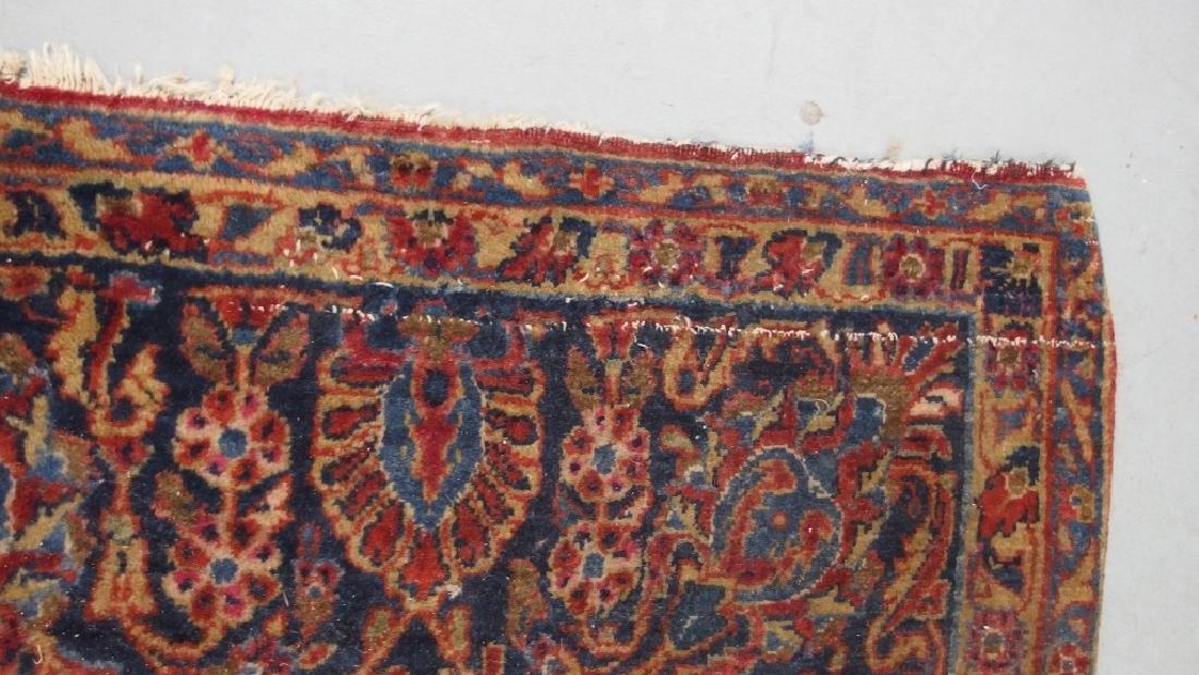 Persian Sarouk Room Size Carpet Rug - 9