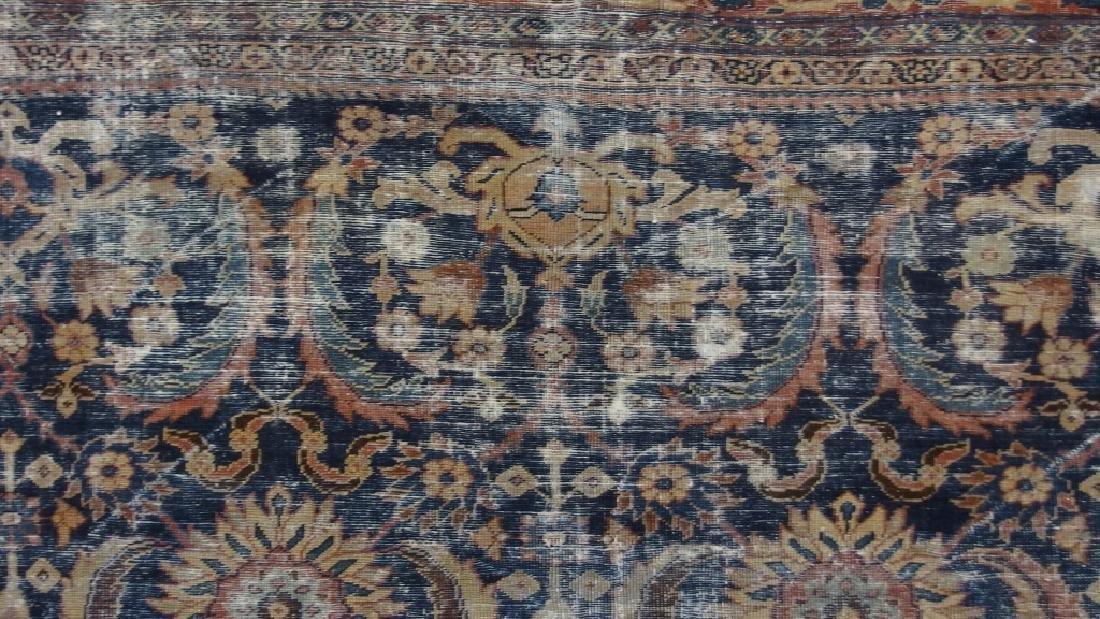 Persian Circa 1900 Mahal Zeiglar Type Carpet Rug - 4