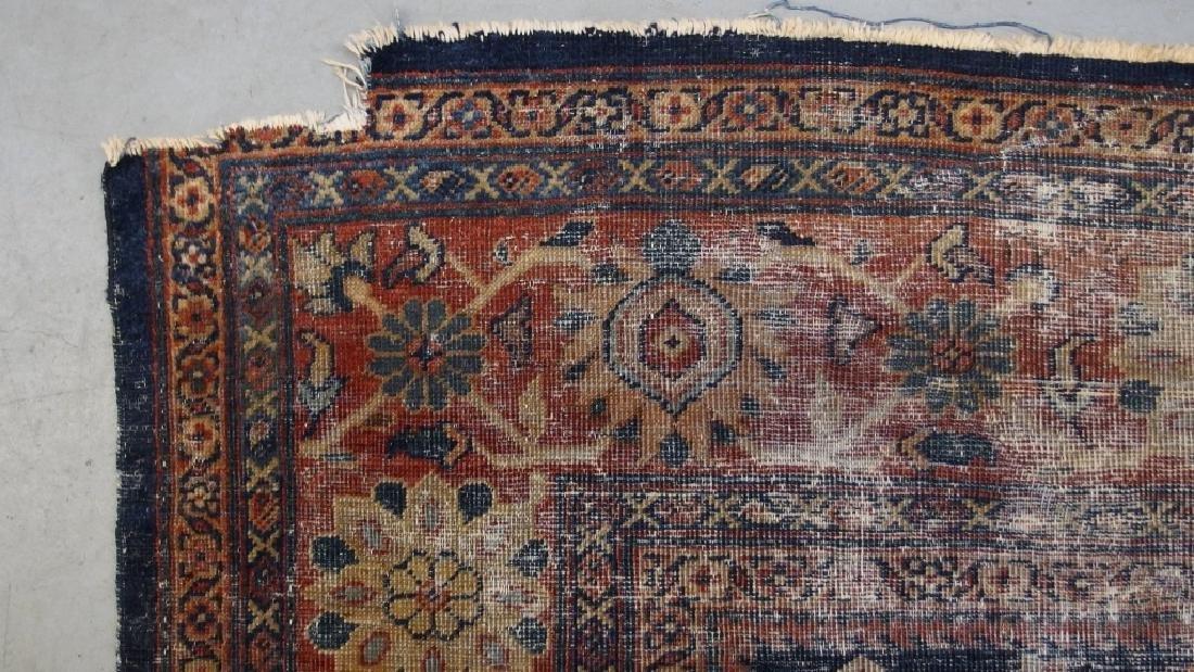 Persian Circa 1900 Mahal Zeiglar Type Carpet Rug - 5