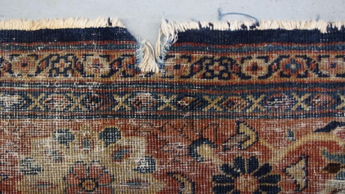 Persian Circa 1900 Mahal Zeiglar Type Carpet Rug - 6