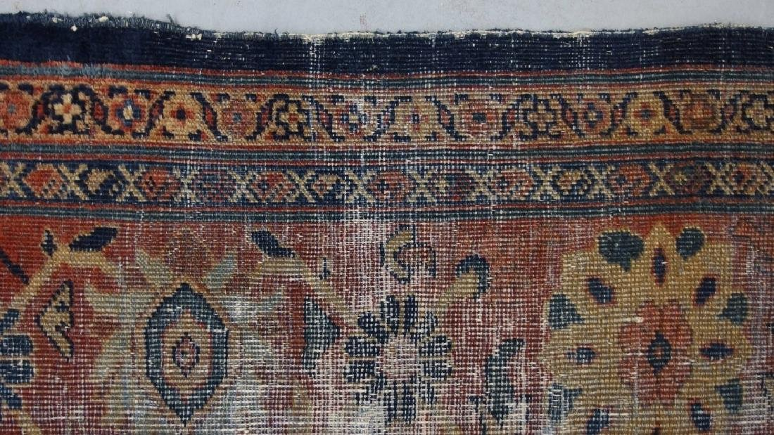 Persian Circa 1900 Mahal Zeiglar Type Carpet Rug - 7
