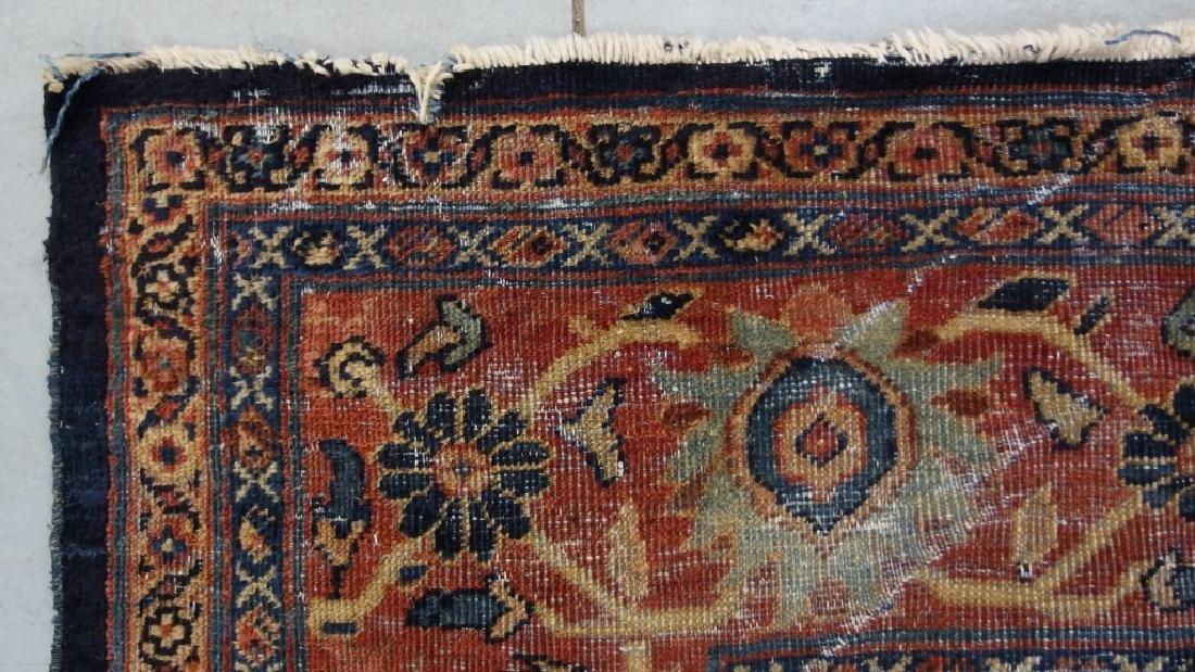 Persian Circa 1900 Mahal Zeiglar Type Carpet Rug - 8