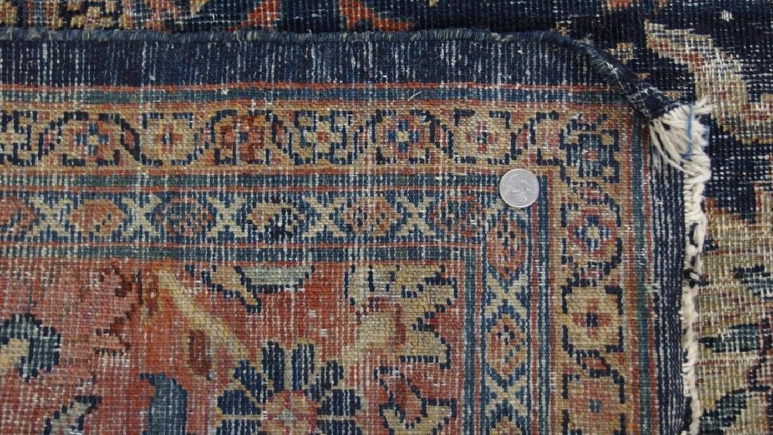 Persian Circa 1900 Mahal Zeiglar Type Carpet Rug - 9