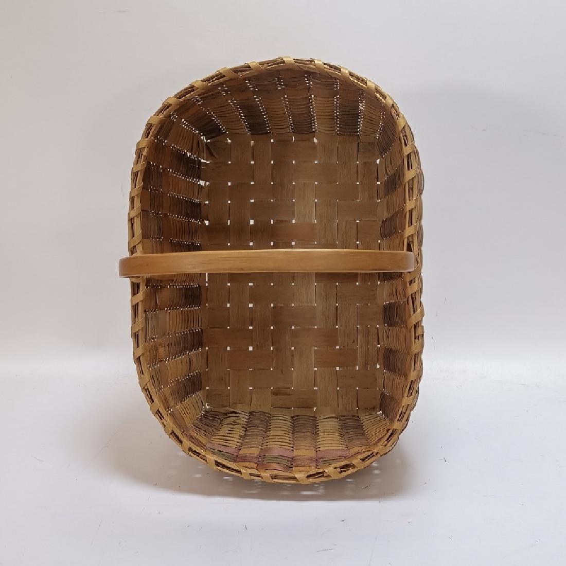 Native American Indian Basket & Yei Rug Group - 11
