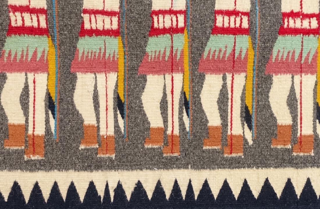 Native American Indian Basket & Yei Rug Group - 3