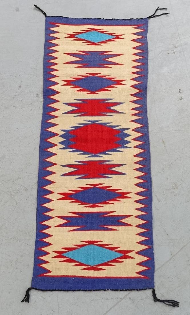 Native American Indian Basket & Yei Rug Group - 5